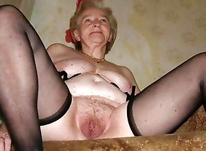 Series of pictures featuring some crazy hot old mature ladies