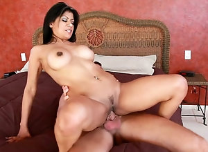 Mexican cougar is treated like a bitch and loves it