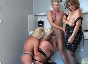 Skanky mature sluts in the chase for hard young boners