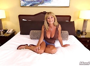 Ugly mom with big juggs is excellent for POV fucking