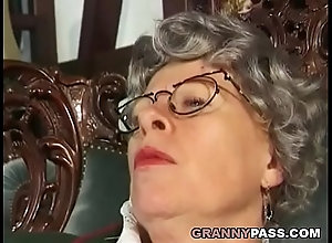 Granny anal queens dvd
