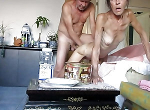 Crazy Asian milf is secretly recorded while being fucked hard